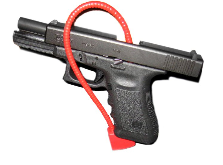 glock with safety lock